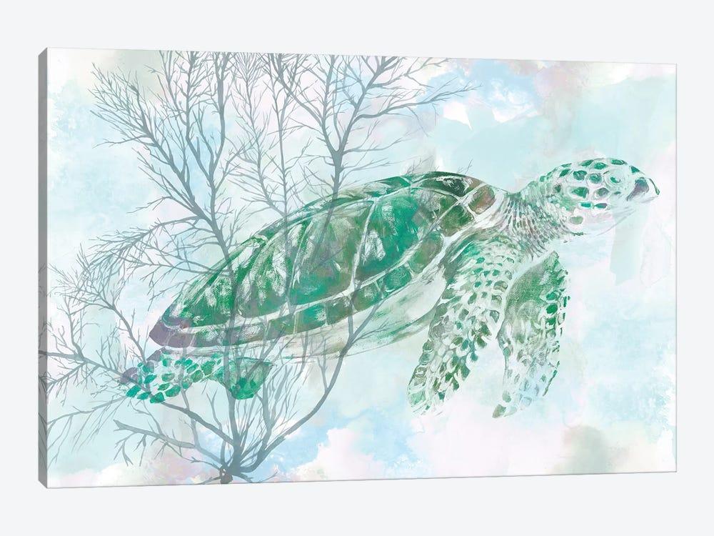 Watercolor Sea Turtle I by Studio W 1-piece Canvas Print