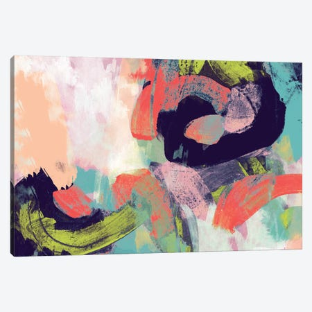 Vibrant Spring II Canvas Print #STW46} by Studio W Canvas Print