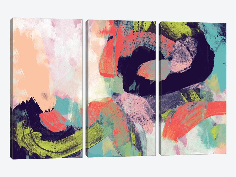 Vibrant Spring II by Studio W 3-piece Canvas Art