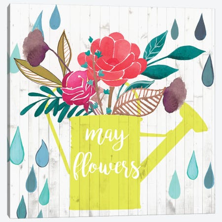 April Showers & May Flowers II Canvas Print #STW48} by Studio W Canvas Artwork
