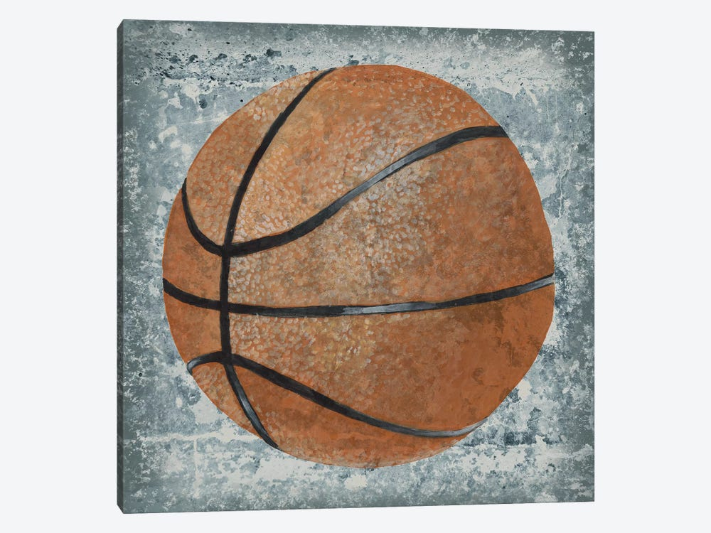 Grunge Sporting I by Studio W 1-piece Canvas Wall Art