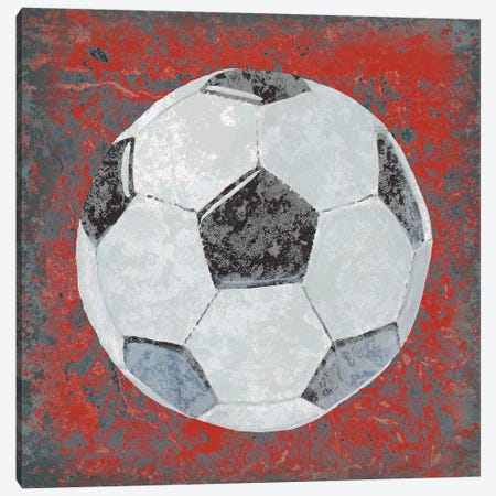 Grunge Sporting IV Canvas Print #STW56} by Studio W Canvas Art