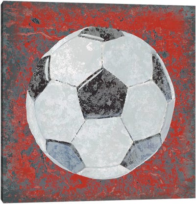 Grunge Sporting IV Canvas Art Print