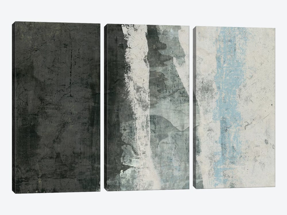 Black & Grey & Blue II by Studio W 3-piece Canvas Art Print