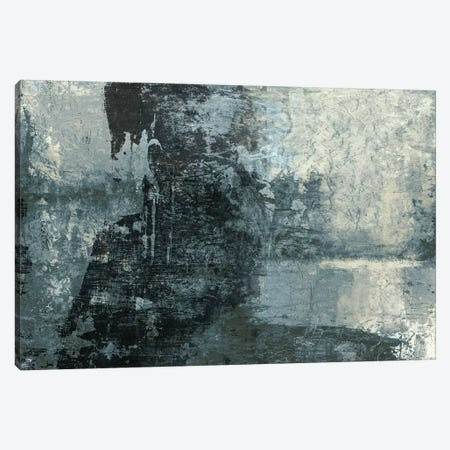 Black & Grey & Blue III Canvas Print #STW59} by Studio W Canvas Print