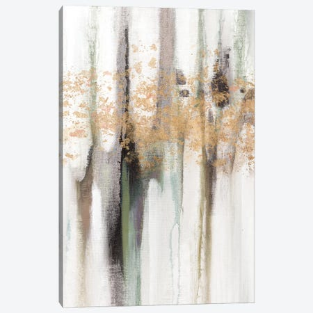Falling Gold Leaf I Canvas Print #STW5} by Studio W Canvas Art Print