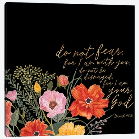 Floral Faith III Canvas Print #STW62} by Studio W Canvas Artwork