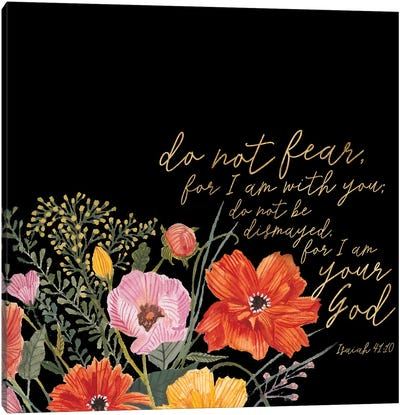 Floral Faith III Canvas Art Print