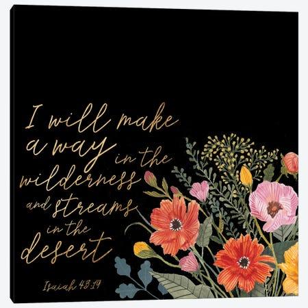 Floral Faith IV Canvas Print #STW63} by Studio W Canvas Artwork