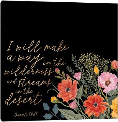 Floral Faith IV Canvas Art Print
