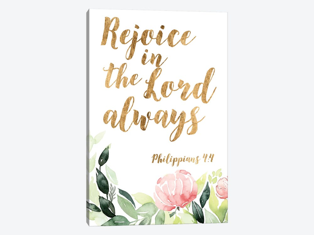 Grace Words Floral II by Studio W 1-piece Art Print