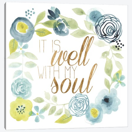 It Is Well II Canvas Print #STW69} by Studio W Canvas Art