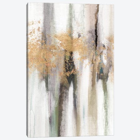 Falling Gold Leaf II Canvas Print #STW6} by Studio W Canvas Print