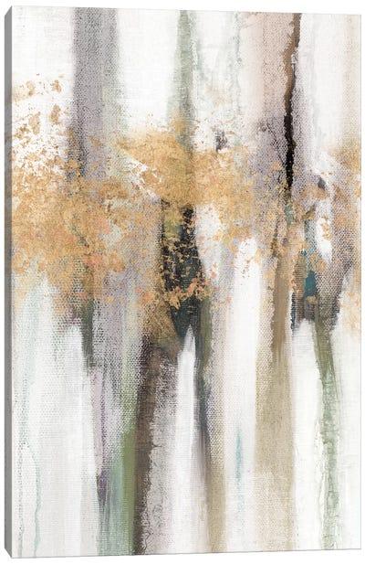 Falling Gold Leaf II Canvas Art Print