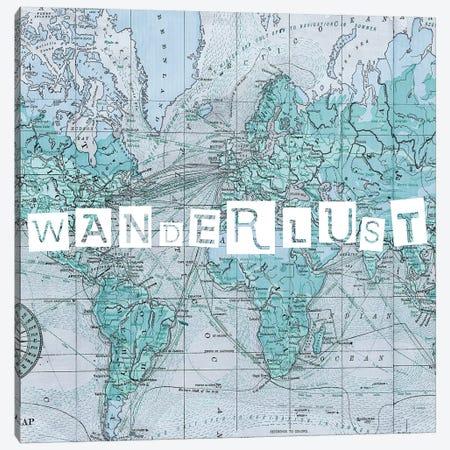 Map Words V Canvas Print #STW78} by Studio W Canvas Art Print