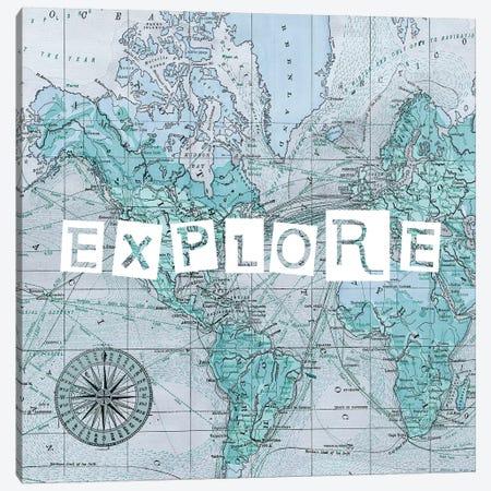 Map Words VI Canvas Print #STW79} by Studio W Canvas Print