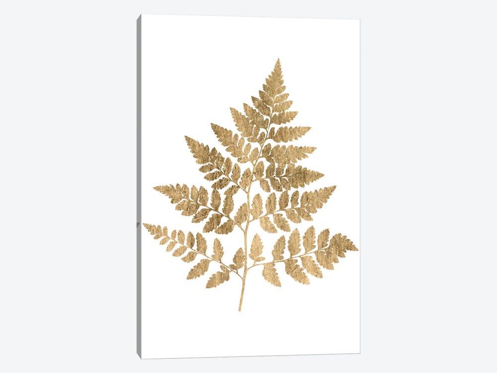 Graphic Gold Fern I by Studio W 1-piece Canvas Art Print