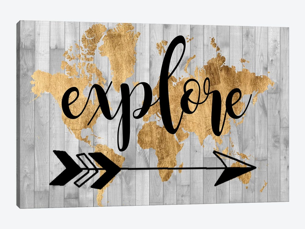 Young Explorer V by Studio W 1-piece Canvas Wall Art