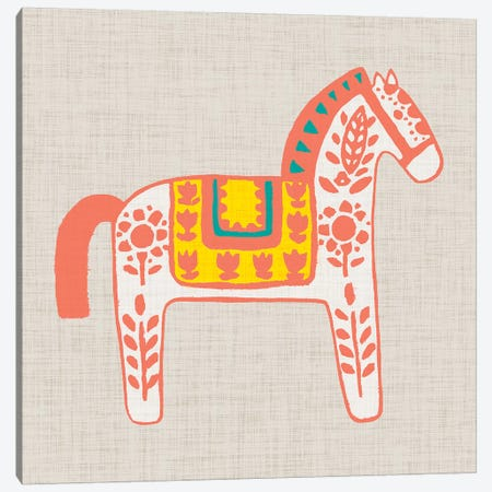 Decorative Burro I Canvas Print #STW84} by Studio W Canvas Art Print