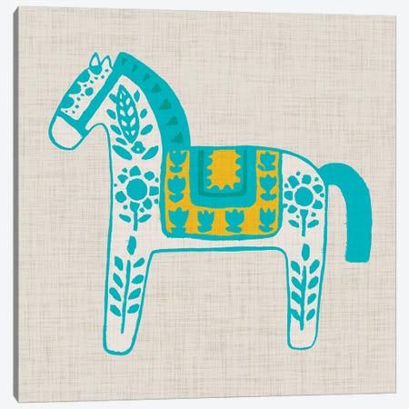 Decorative Burro II Canvas Print #STW85} by Studio W Art Print