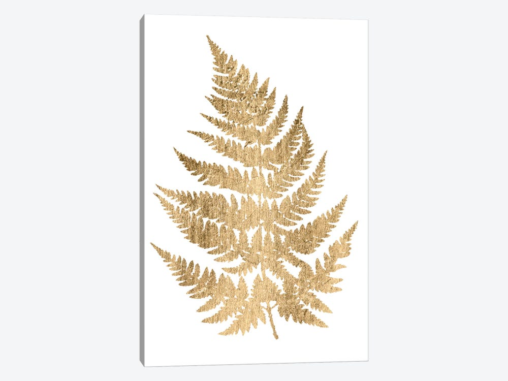 Graphic Gold Fern IV by Studio W 1-piece Canvas Wall Art