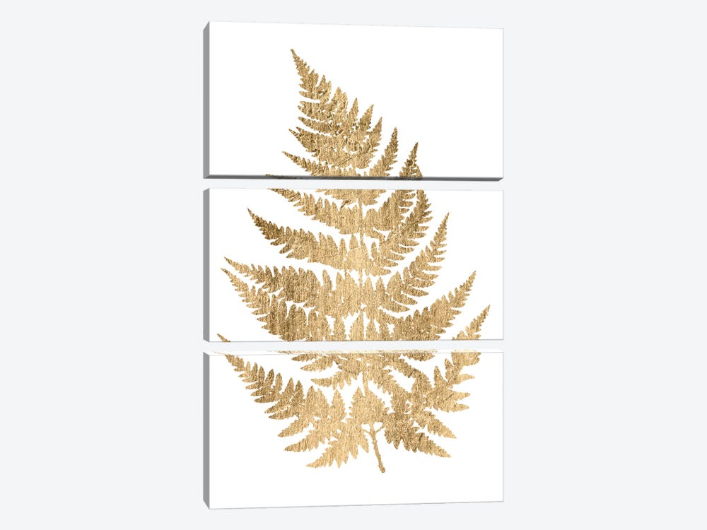 Graphic Gold Fern IV by Studio W 3-piece Canvas Artwork