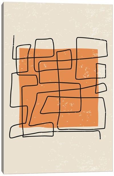 Abstract Color Set IV Canvas Art Print