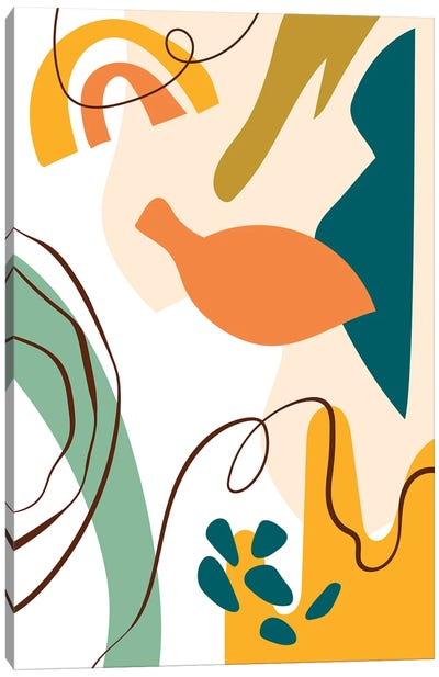 Abstract Expression I Canvas Art Print