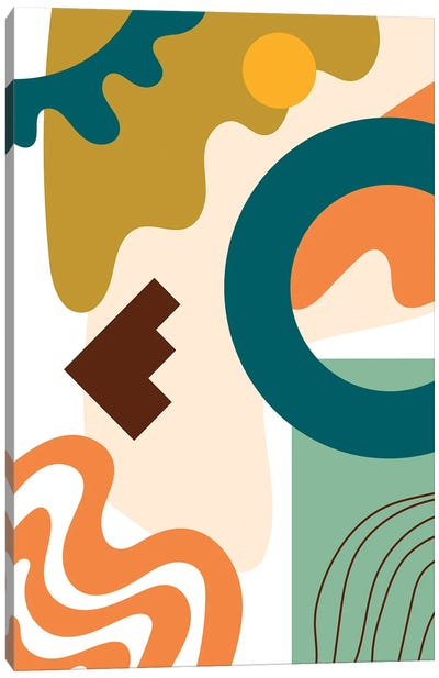 Abstract Expression III Canvas Art Print