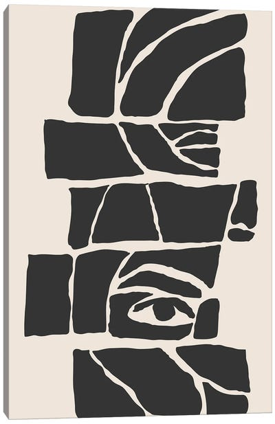 Abstract Face VII Canvas Art Print