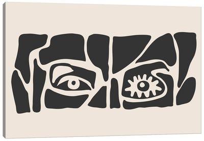 Abstract Face Series VI Canvas Art Print