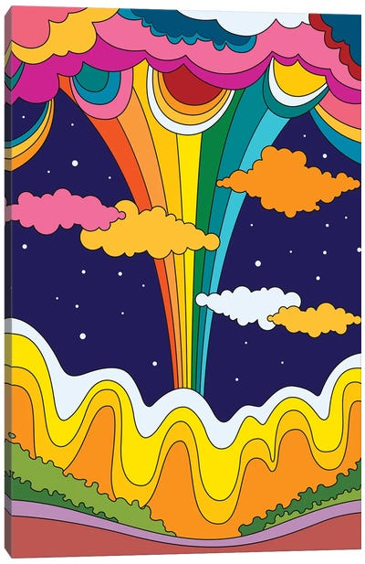 70's Vibes I Canvas Art Print