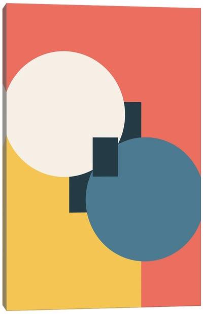 Abstract Geometric Fun I Canvas Art Print