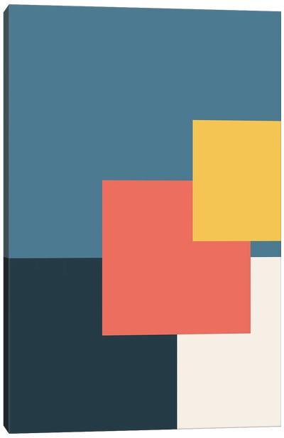 Abstract Geometric Fun II Canvas Art Print