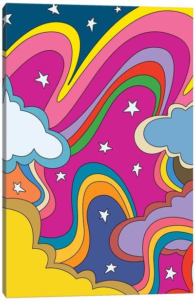 70's Vibes III Canvas Art Print