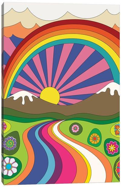 70's Vibes IV Canvas Art Print