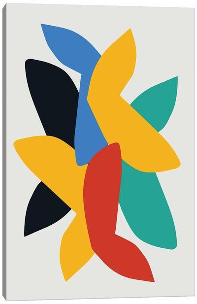Abstract Birds Canvas Art Print
