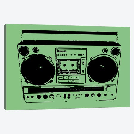 Boom Box Canvas Print #STZ11} by Steez Canvas Artwork
