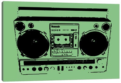 Boom Box Canvas Art Print