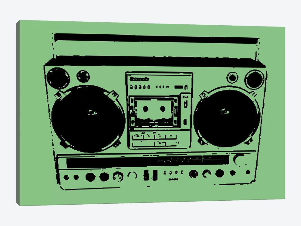Boom Box by Steez 1-piece Art Print