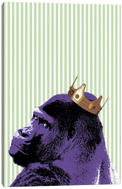 Crown Ape Canvas Art Print