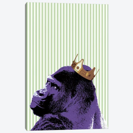 Crown Ape Canvas Print #STZ20} by Steez Art Print