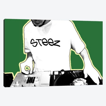 DJ Canvas Print #STZ21} by Steez Canvas Print