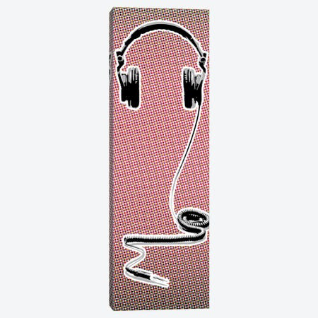 Headphones Canvas Print #STZ35} by Steez Canvas Print