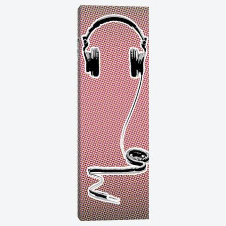 Headphones Canvas Print #STZ35} by Steez Canvas Print