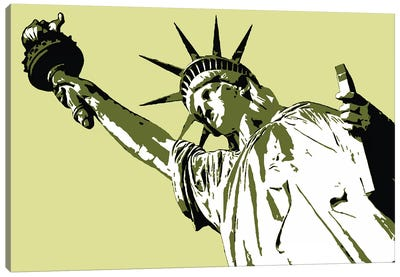 Lady Liberty Canvas Art Print