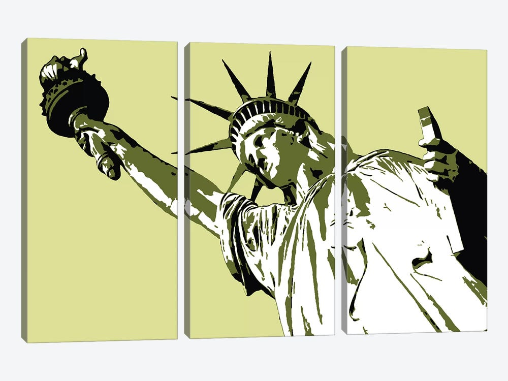 Lady Liberty by Steez 3-piece Art Print