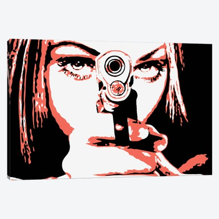 Lock And Load Canvas Print #STZ38} by Steez Canvas Wall Art