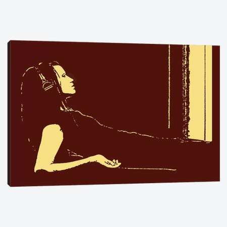 Loungin' Canvas Print #STZ39} by Steez Canvas Artwork