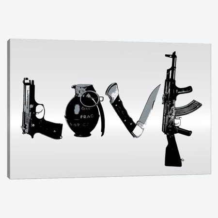Love Canvas Print #STZ40} by Steez Canvas Print